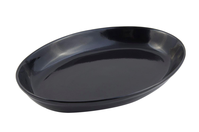 "Bon Chef 2026S Coupe Platter, Sandstone 12 1/4"" x 17"""