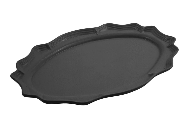 "Bon Chef 2030S Queen Anne Oval Platter, Sandstone 18 3/4"" x 24"""