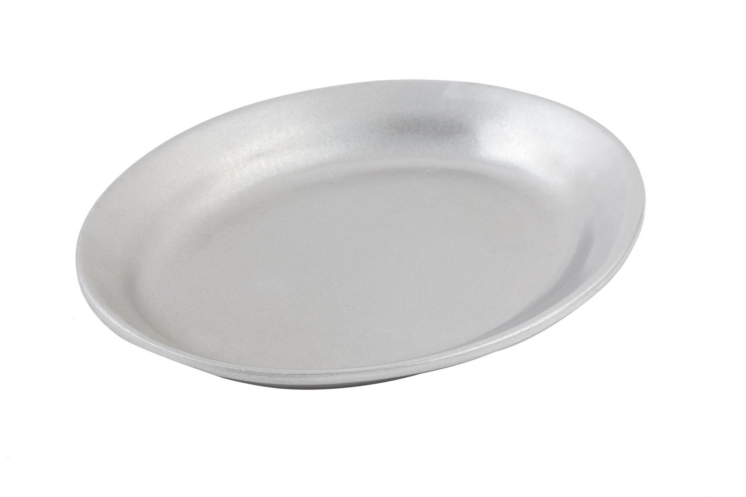 "Bon Chef 2033P Small Oval Platter, Pewter Glo 7 3/4"" x 9 3/4"", Set of 3"