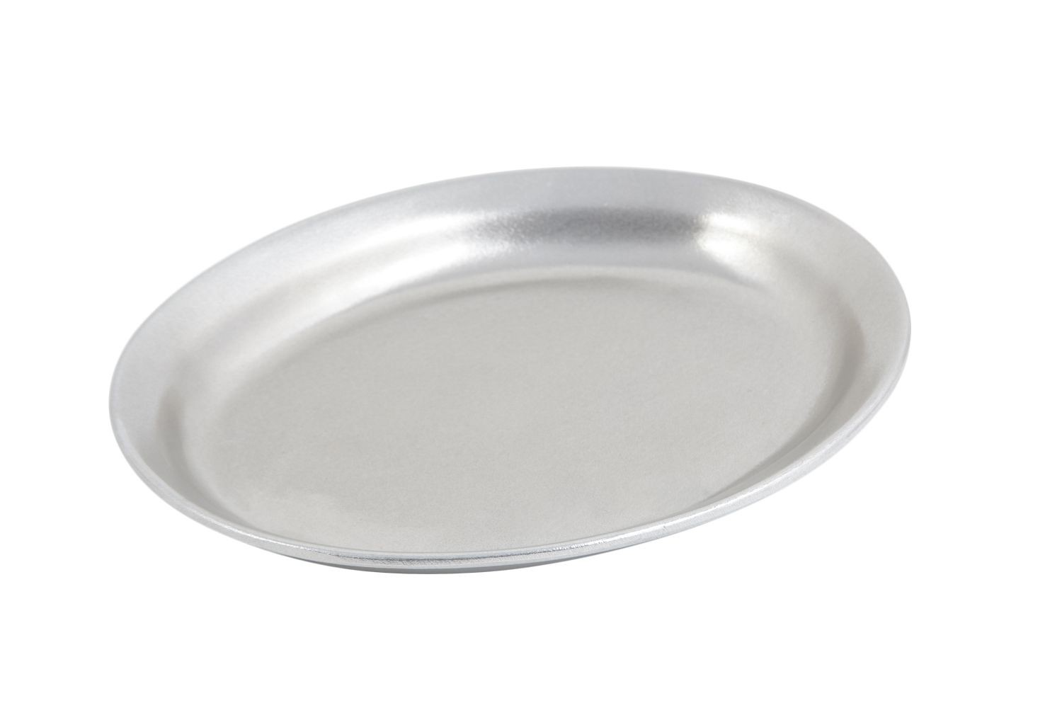 "Bon Chef 2034P Large Oval Platter, Pewter Glo 11 1/2"" x 9"" x 1 1/2"", Set of 3"