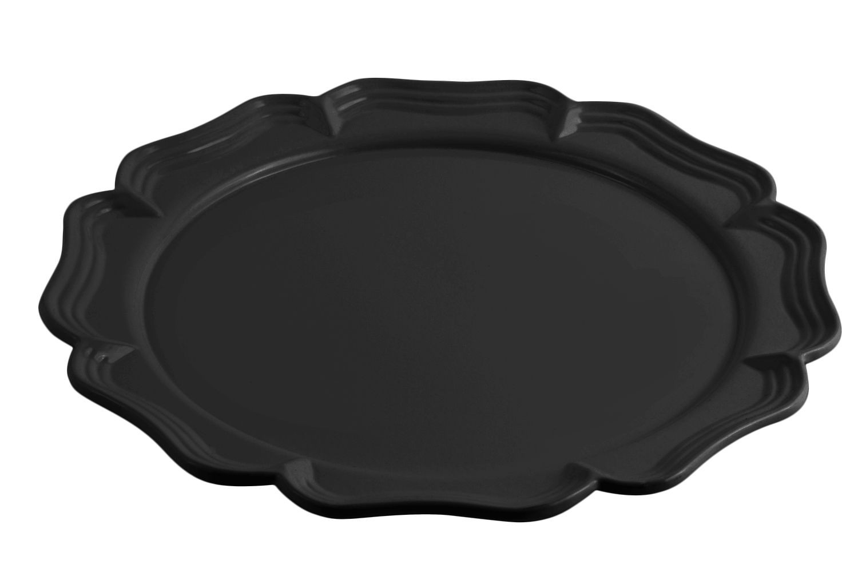 "Bon Chef 20363010S Pedestal Platter, Sandstone 15 7/8"" Dia., 3"" . H"