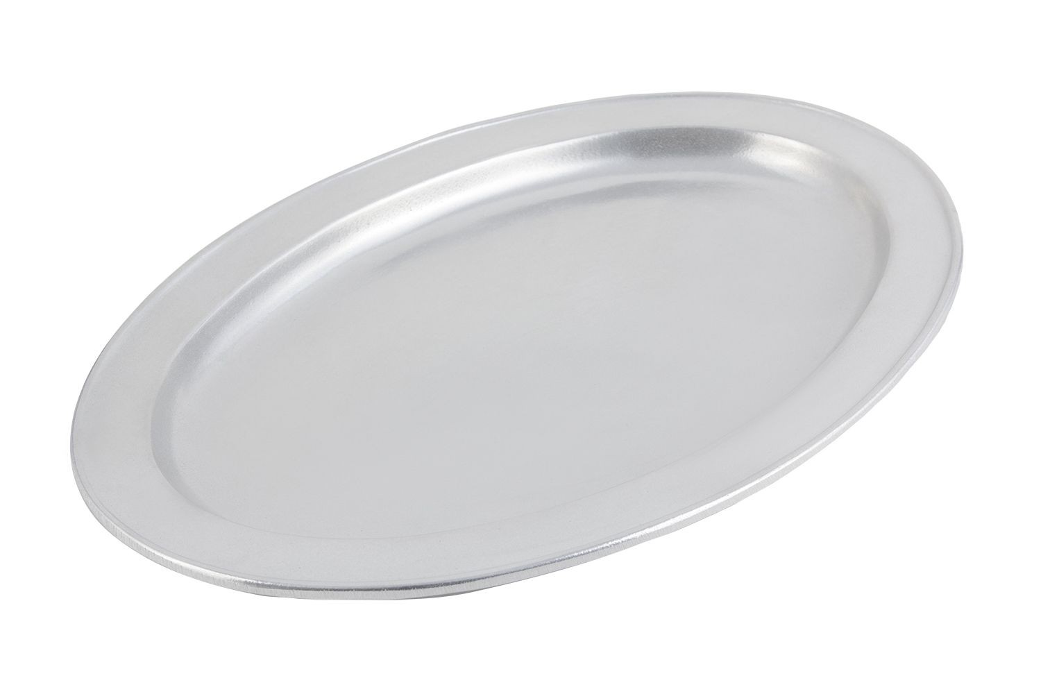 "Bon Chef 2044P Oval Platter, Pewter Glo 12 1/4"" x 17"""