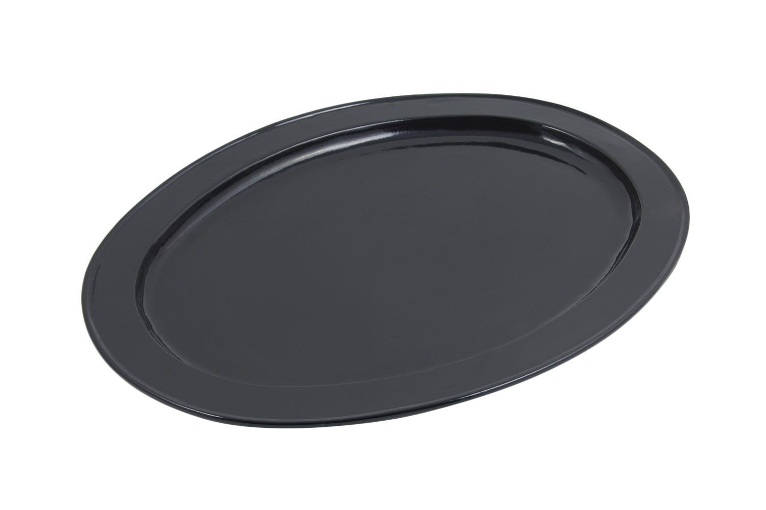 "Bon Chef 2045HRS Oval Platter with Round Handles, Sandstone 14 1/4"" x 20 1/4"""