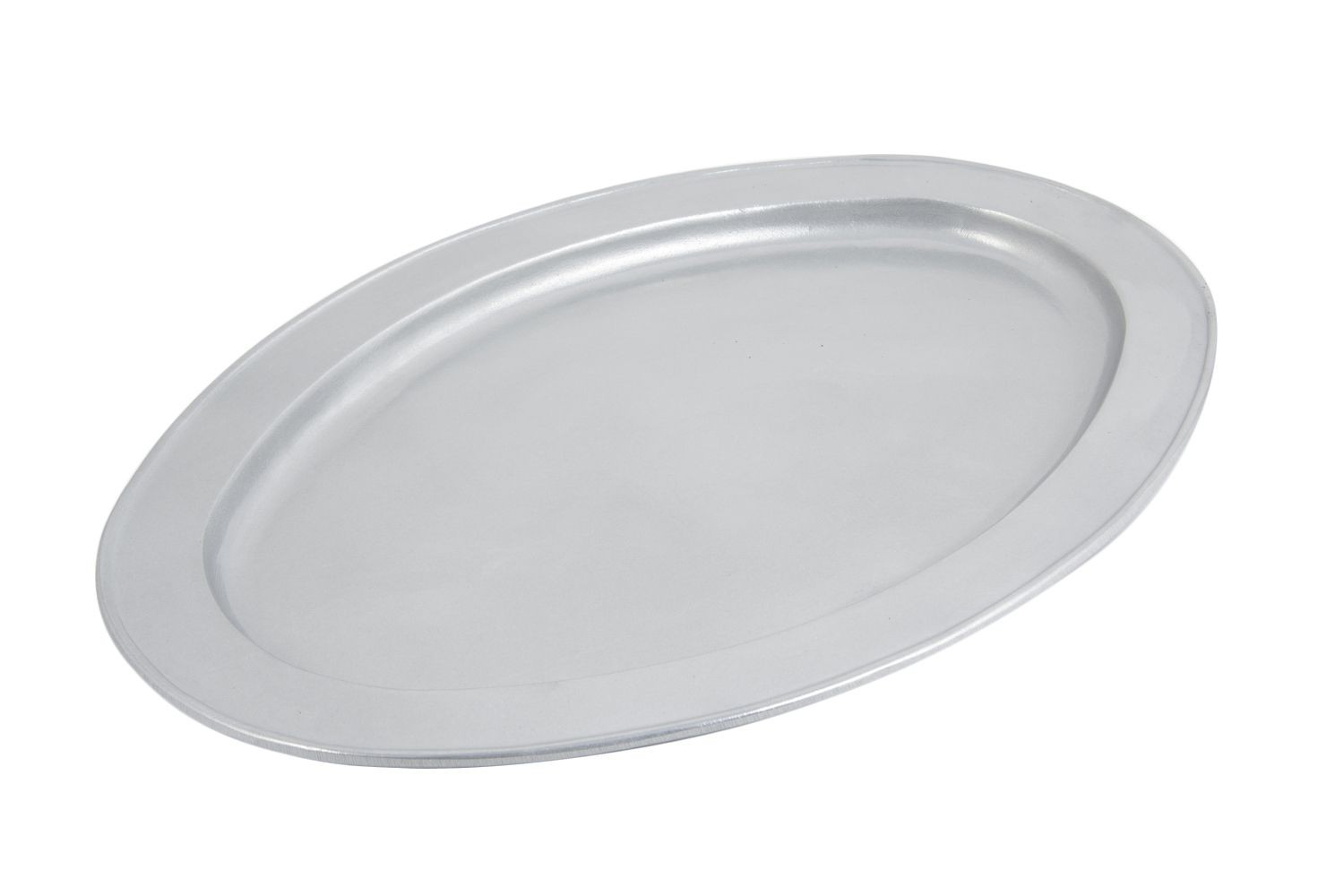 "Bon Chef 2046P Oval Platter, Pewter Glo 15 1/2"" x 22 1/2"""