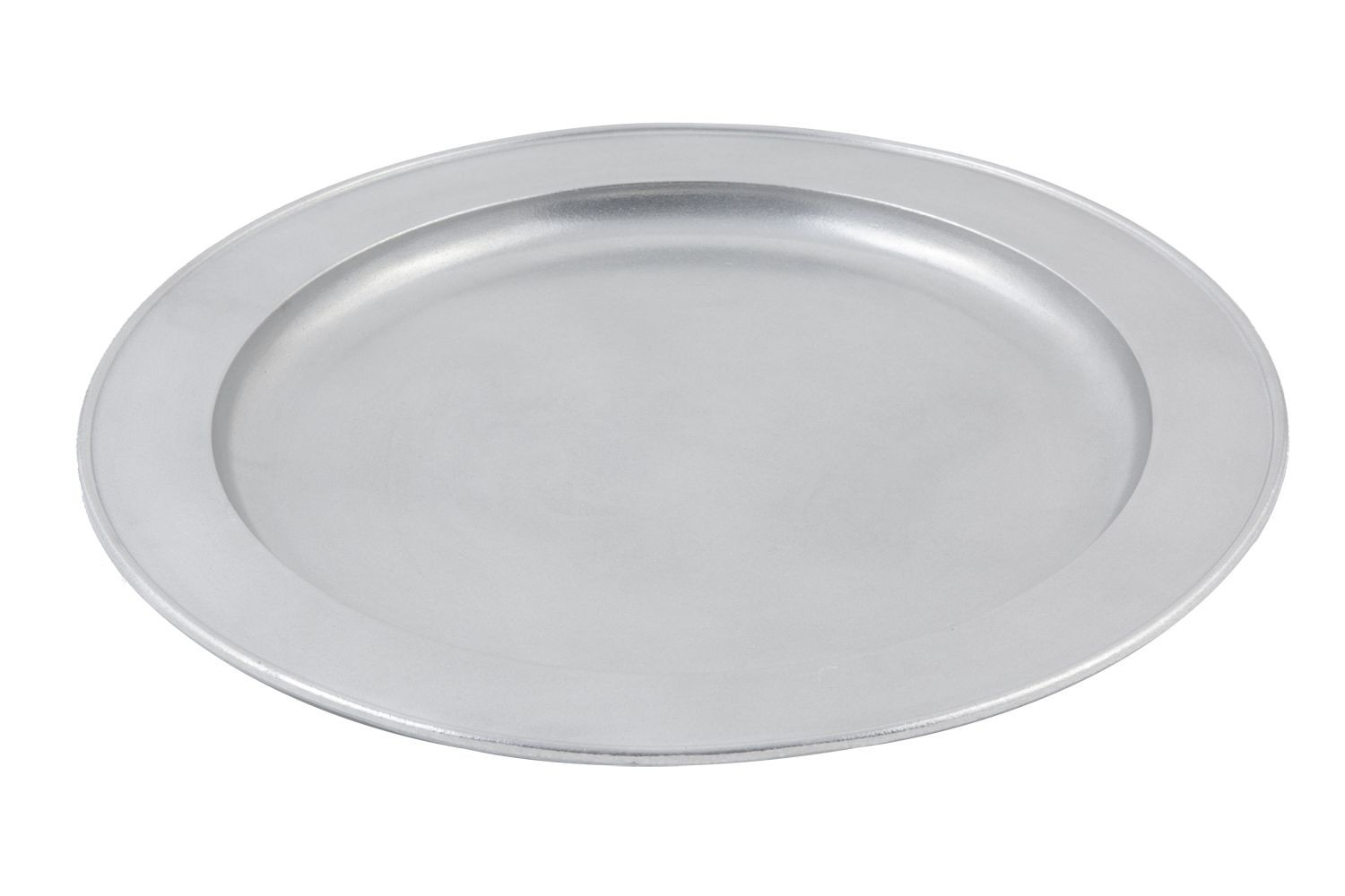 "Bon Chef 2048P Round Serving Tray, Pewter Glo 16"" Dia."