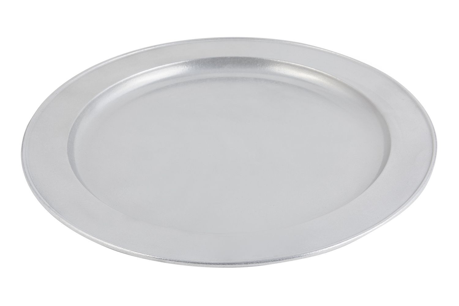 "Bon Chef 2050P Round Serving Tray. Pewter Glo 22"" Dia."