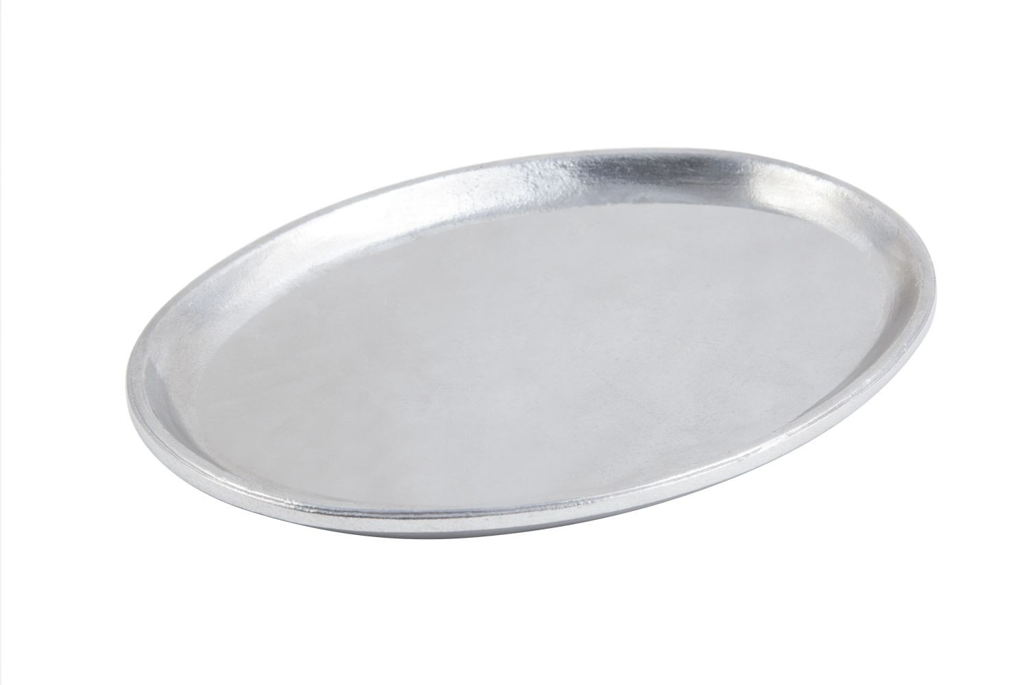 "Bon Chef 2060P Extra Heavy Oval Platter, Pewter Glo 7 1/2"" x 10"", Set of 6"