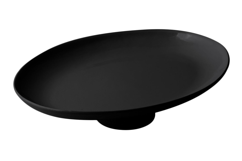"""Bon Chef 20779059S Coupe Pedestal Platter, Sandstone 20"""" x 15"""" x 5"""""""