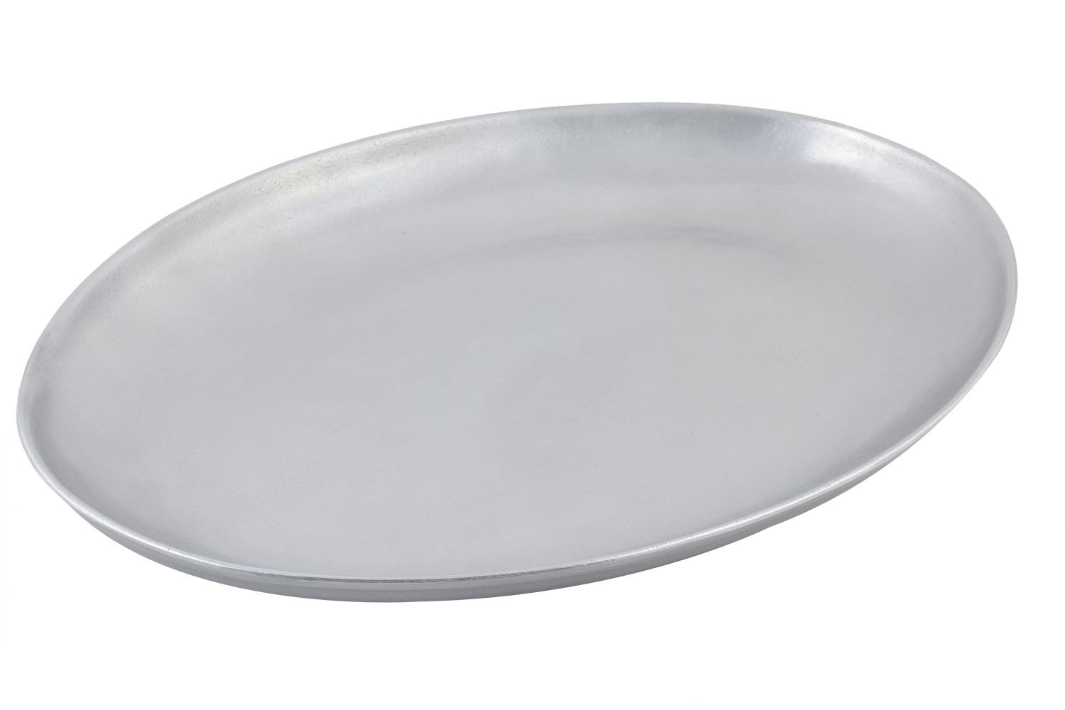 "Bon Chef 2077P Coupe Platter, Pewter Glo 15"" x 20"""