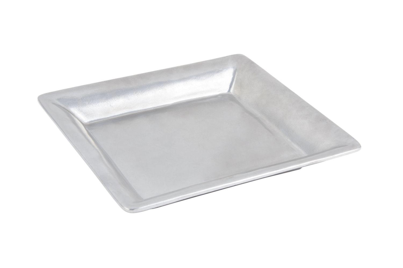 "Bon Chef 2085P Square Serving Dish, Pewter Glo 12"" x 12"""