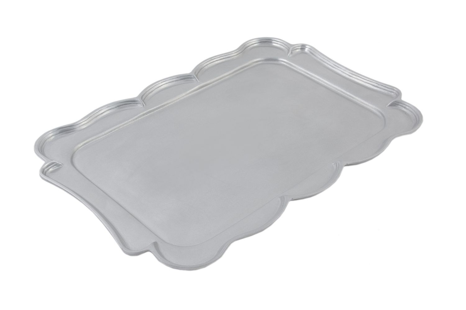 "Bon Chef 2097P Queen Anne Platter, Pewter Glo 15"" x 22"""