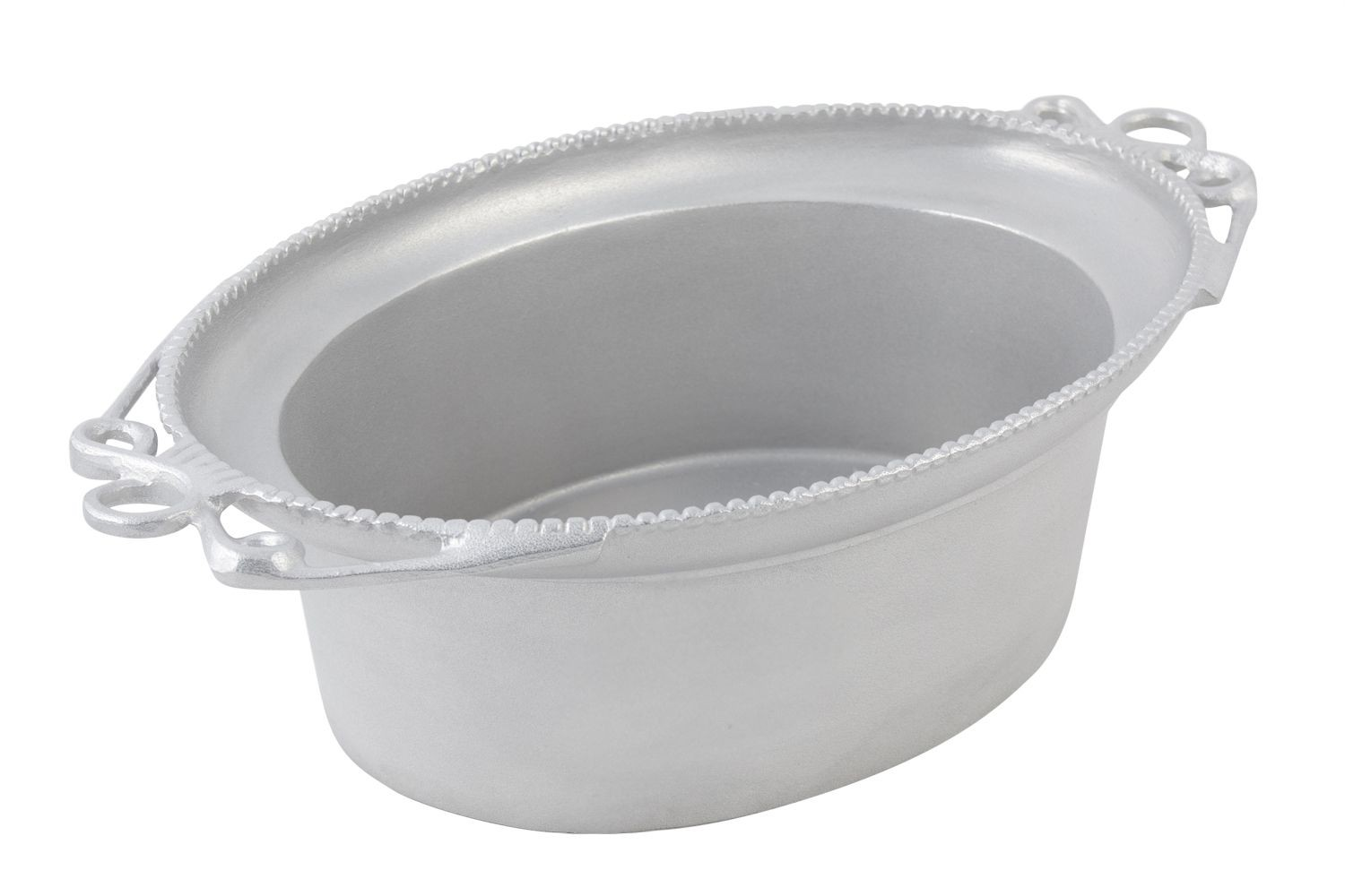 Bon Chef 2103P Bolero Serving Bowl, Pewter Glo 11 Qt.