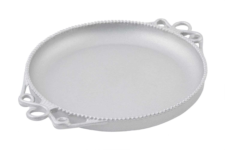"Bon Chef 2108P Bolero Platter, Pewter Glo 18"" Dia."
