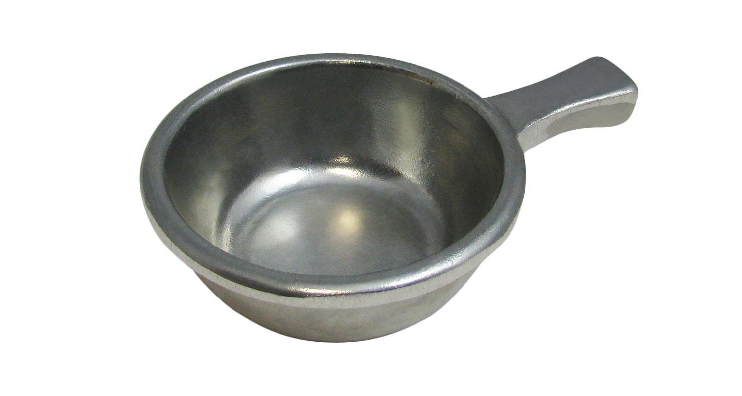 Bon Chef 3009P Soup Bowl with Handle, Pewter Glo 12 oz., Set of 6