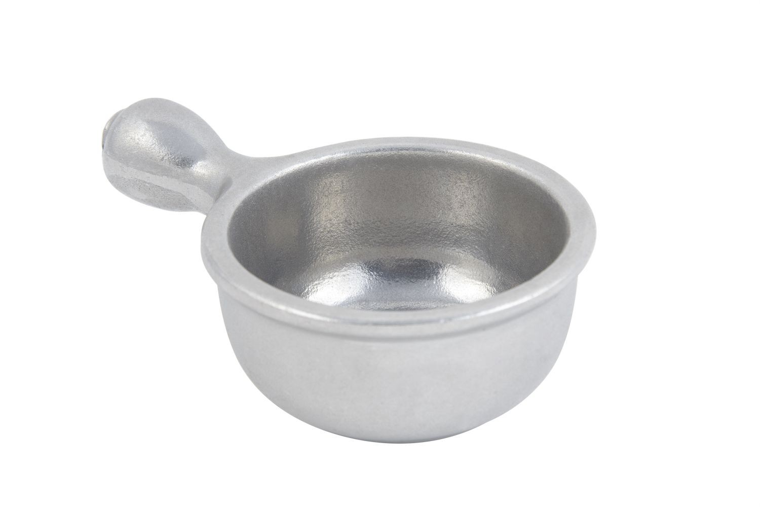 Bon Chef 3011P Soup Bowl with Handle, Pewter Glo 10 oz., Set of 6