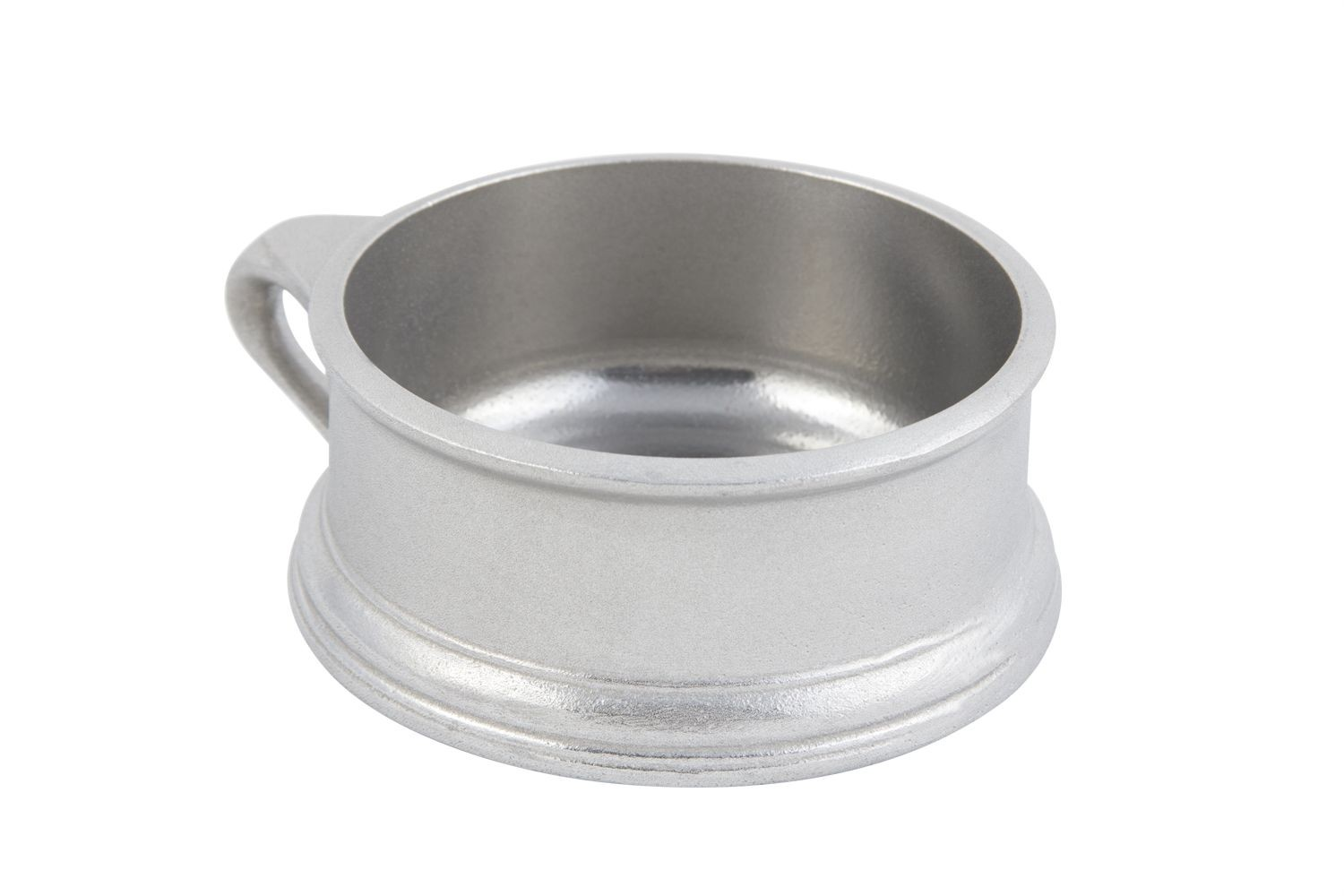 Bon Chef 3013P Soup Bowl with Side Ring Handle, Pewter Glo 14 oz., Set of 6