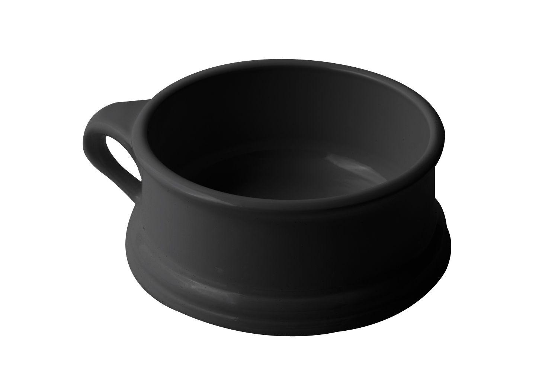 Bon Chef 3013S Soup Bowl with Side Ring Handle, Sandstone 14 oz., Set of 6