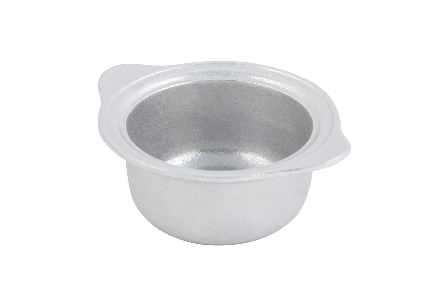Bon Chef 3029P Soup Bowl with Flanged Handle, Pewter Glo 8 oz., Set of 12