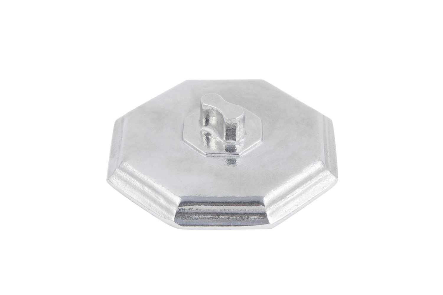 Bon Chef 3038CP Octagonal Soup Bowl Cover for 3038, Pewter Glo, Set of 6