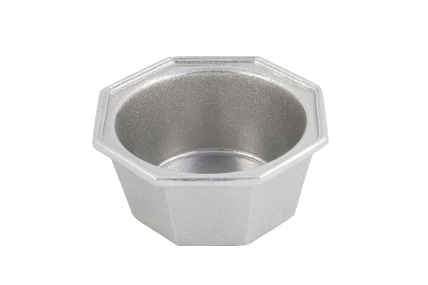 Bon Chef 3038P Octagonal Soup Bowl, Pewter Glo 12 oz., Set of 6