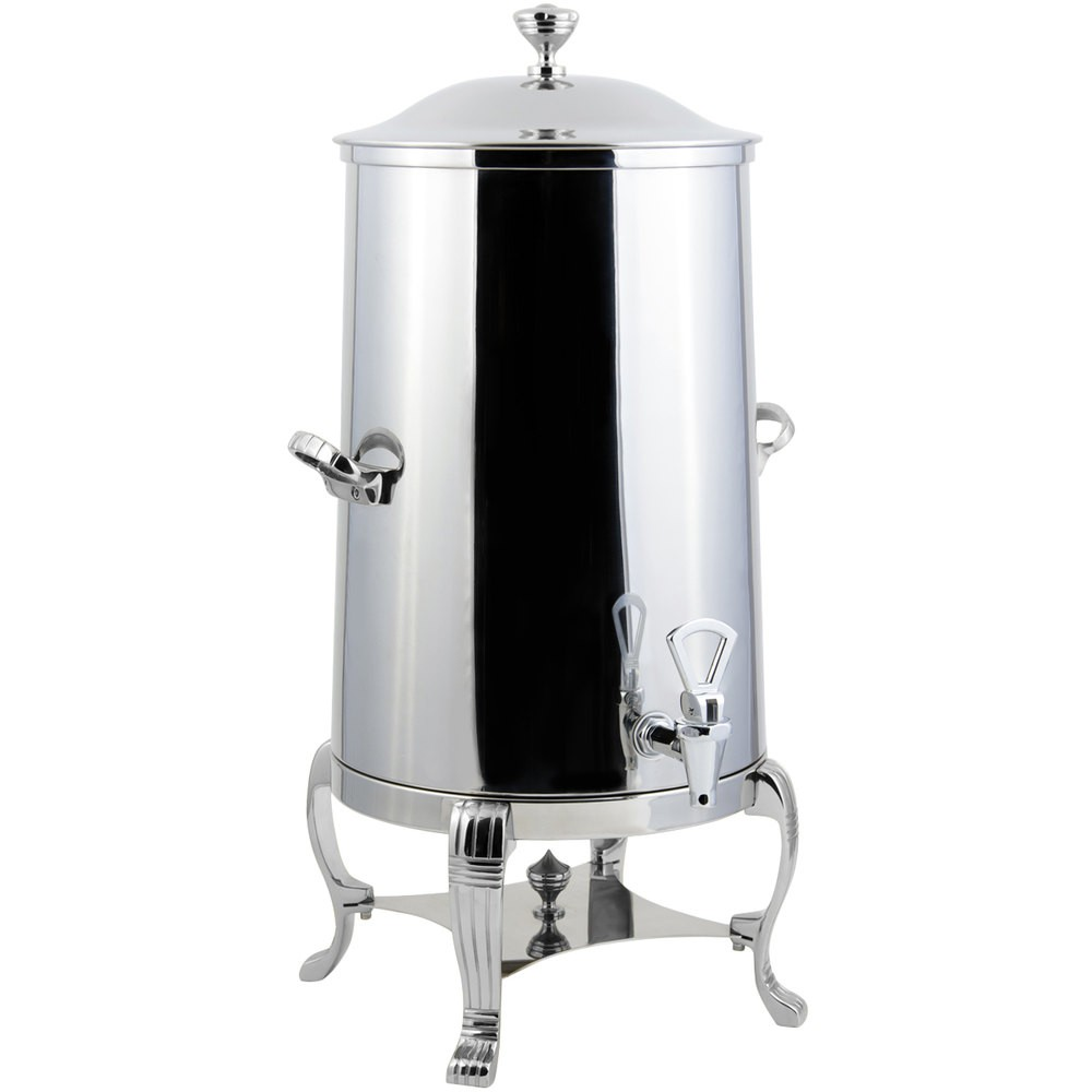 Bon Chef 40001-1CH-E Aurora Electric Coffee Urn with Chrome Trim, 1 1/2 Gallon