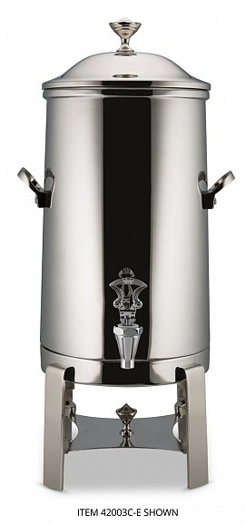 Bon Chef 40001CH-E Aurora Electric Coffee Urn with Chrome Trim, 1 1/2 Gallon