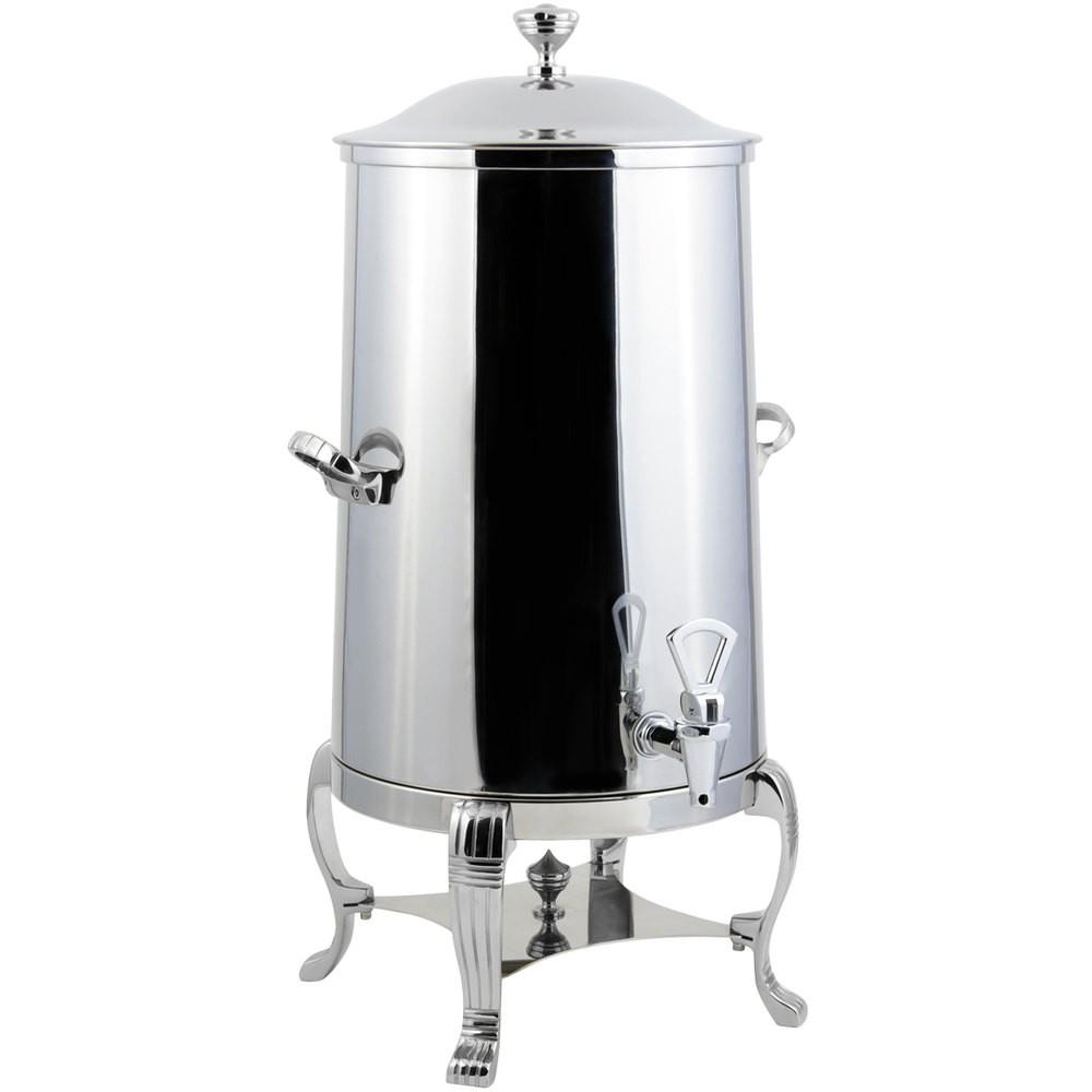 Bon Chef 40003-1CH-E Aurora Electric Coffee Urn with Chrome Trim, 3 Gallon
