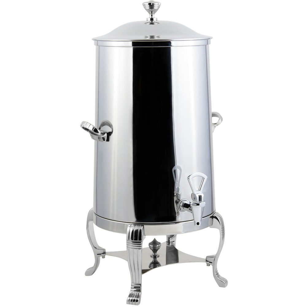 Bon Chef 40005-1CH-E Aurora Electric Coffee Urn with Chrome Trim, 5 Gallon