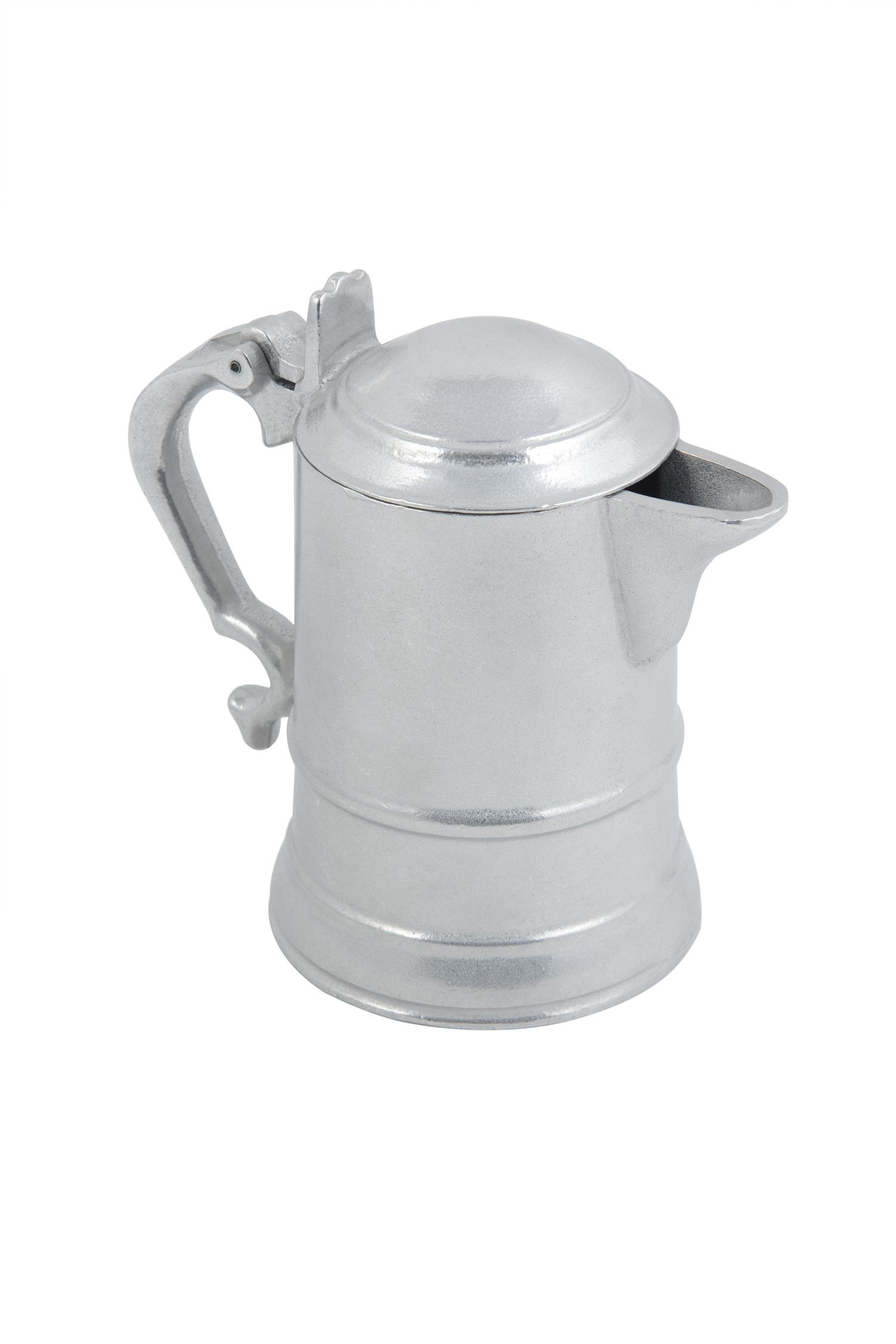 Bon Chef 4009P Coffee Server with Insulated Handle, Pewter Glo 20 oz., Set of 6