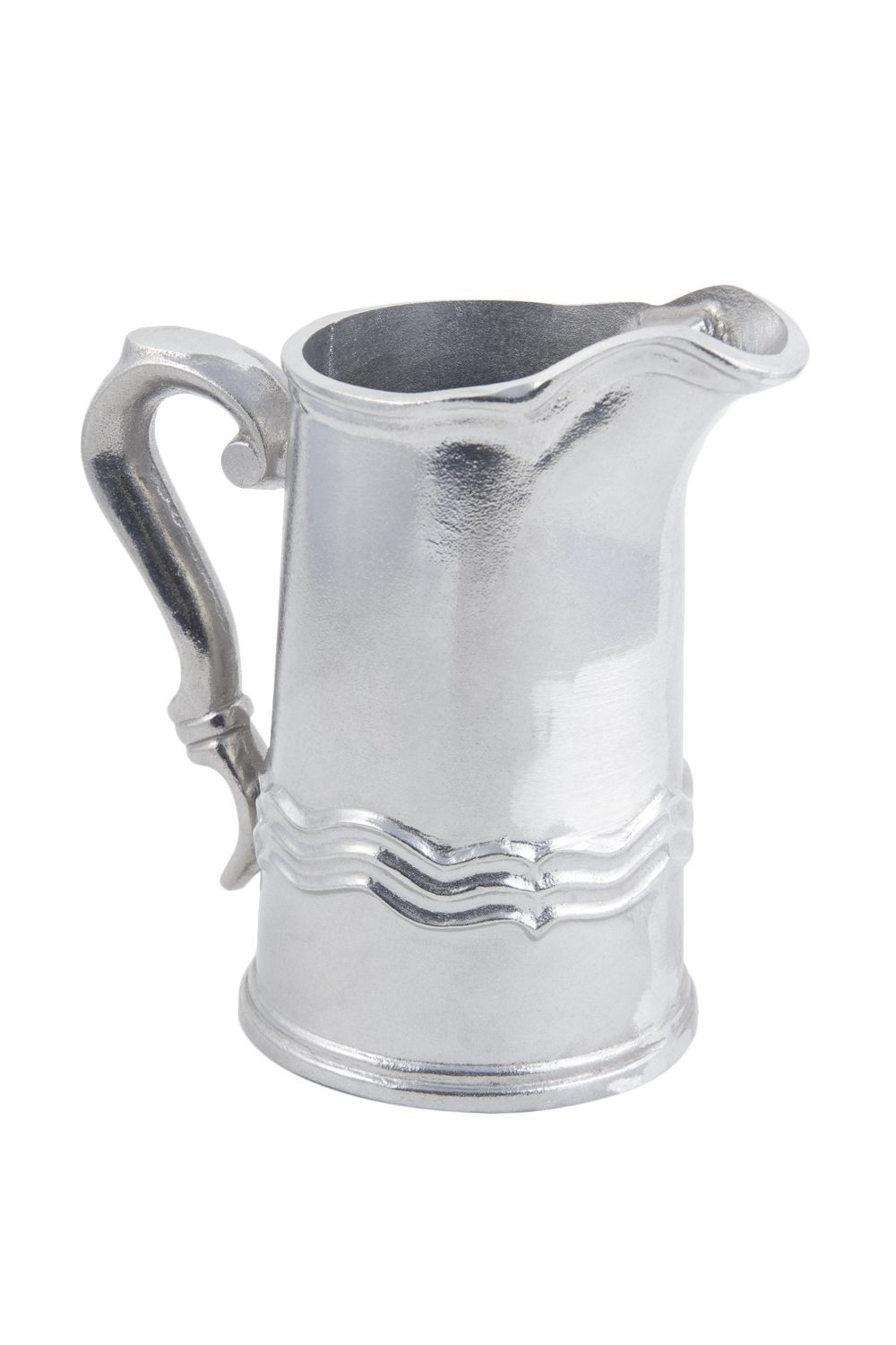 Bon Chef 4035P Queen Anne Water Pitcher, Pewter Glo 2 Qt.