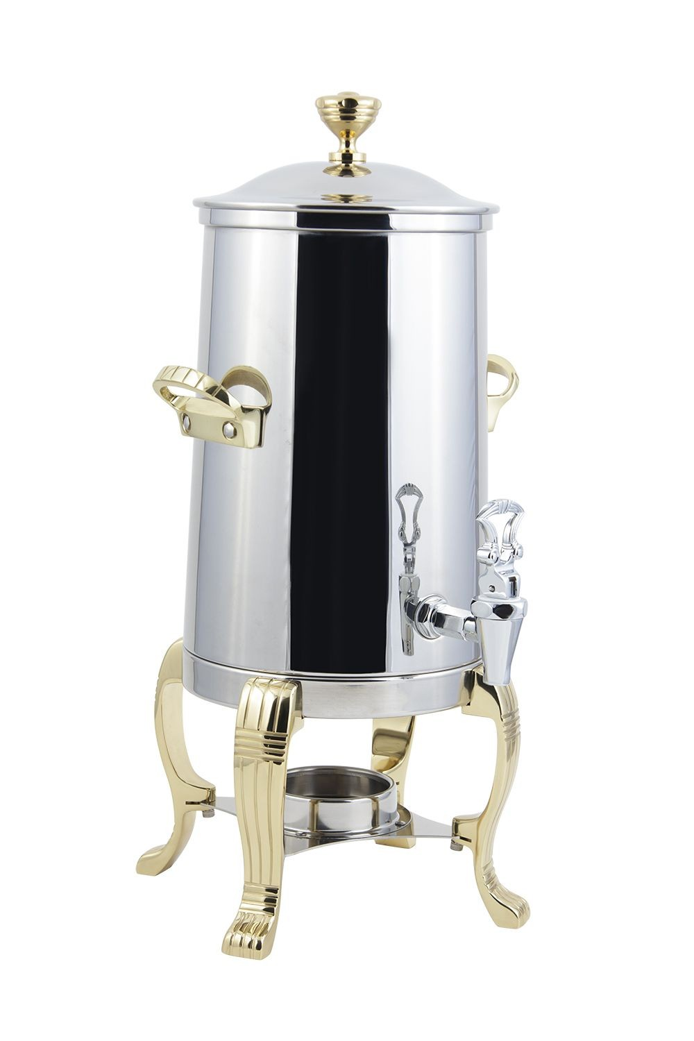 Bon Chef 41003 Aurora Single Wall Non-Insulated Coffee Urn, 3 1/2 Gallon