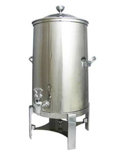 Bon Chef 42001-1C Contemporary Insulated Coffee Urn with Chrome Trim, 1 1/2 Gallon