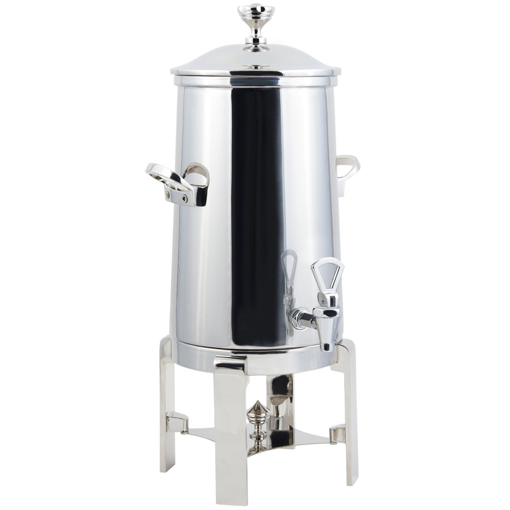 Bon Chef 42001-1C-E Contemporary Electric Coffee Urn with Chrome Trim, 1 1/2 Gallon