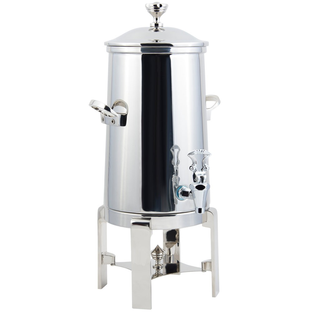 Bon Chef 42001C-E Contemporary Electric Coffee Urn with Chrome Trim, 1 1/2 Gallon