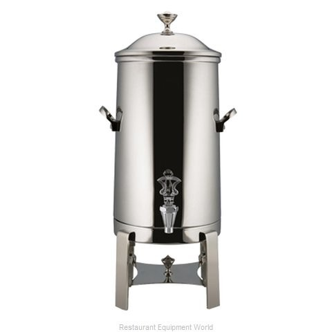 Bon Chef 42003-1 Contemporary Insulated Coffee Urn with Chrome Trim, 3 Gallon