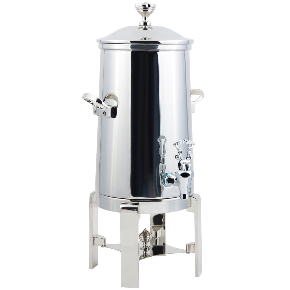 Bon Chef 42003C-E Contemporary Electric Coffee Urn with Chrome Trim, 3 Gallon