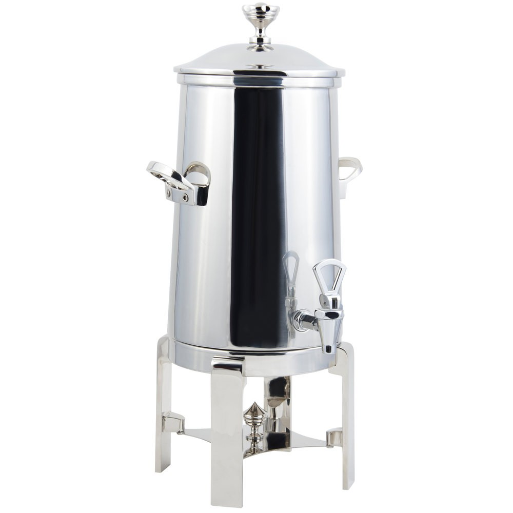 Bon Chef 42005-1C Contemporary Insulated Coffee Urn with Chrome Trim, 5 Gallon