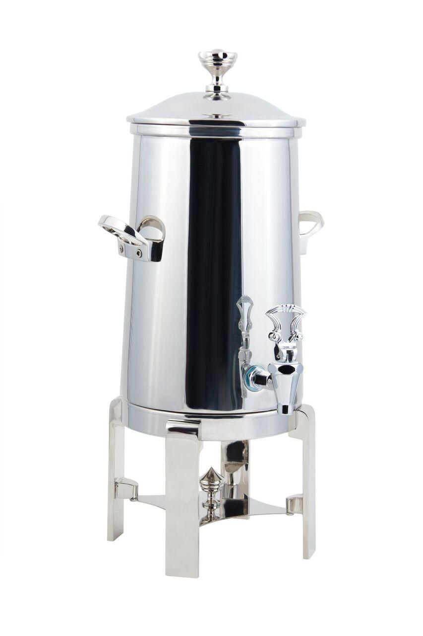 Bon Chef 42005C-E Contemporary Electric Coffee Urn with Chrome Trim, 5 Gallon