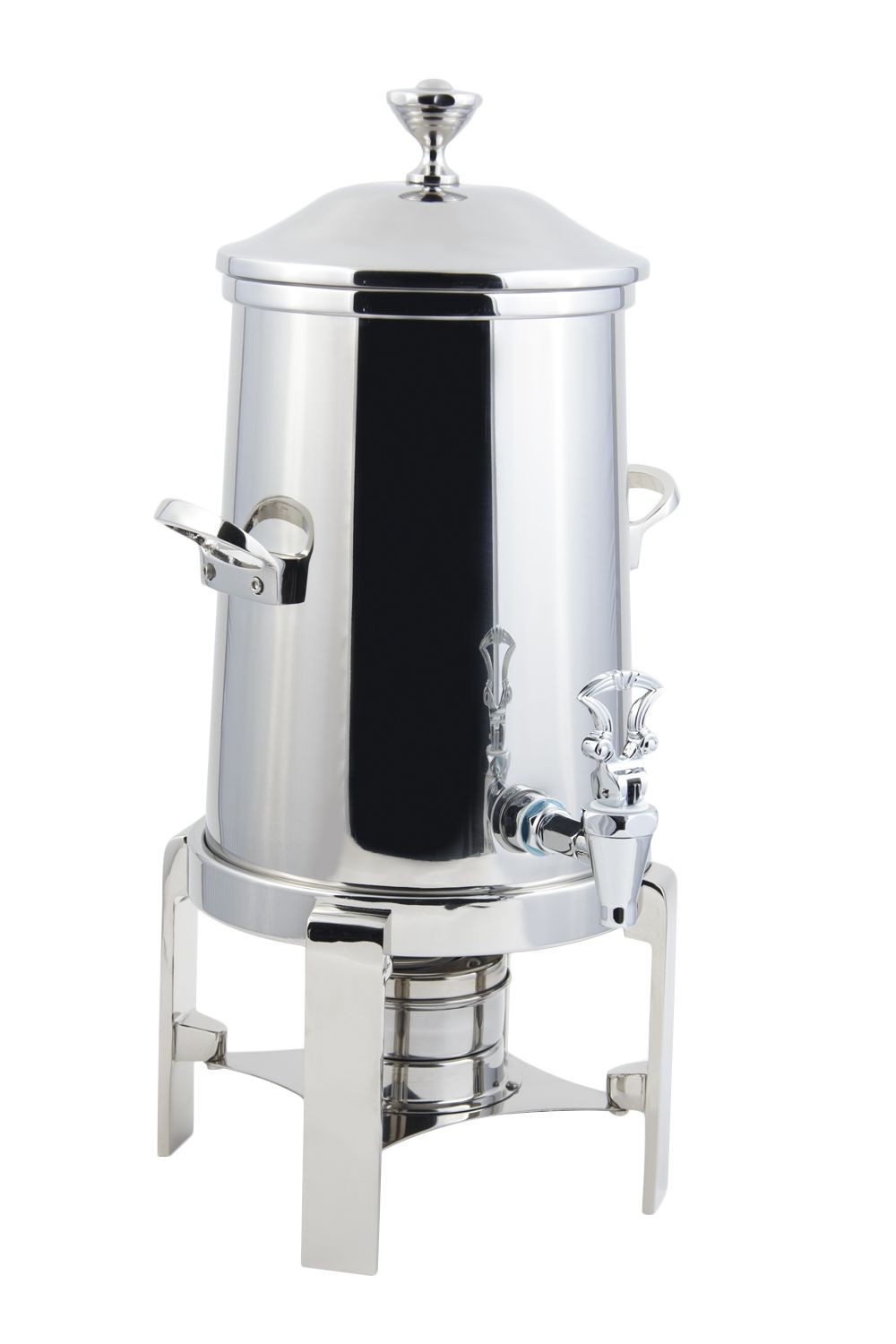 Bon Chef 42101C Contemporary Non-Insulated Coffee Urn with Chrome Trim, 1 1/2 Gallon