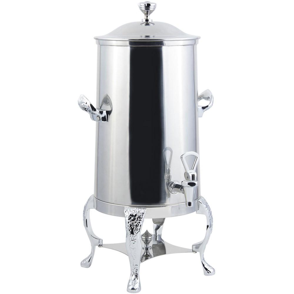 Bon Chef 47001-1C-E Renaissance Electric Coffee Urn with Chrome Trim, 1 1/2 Gallon