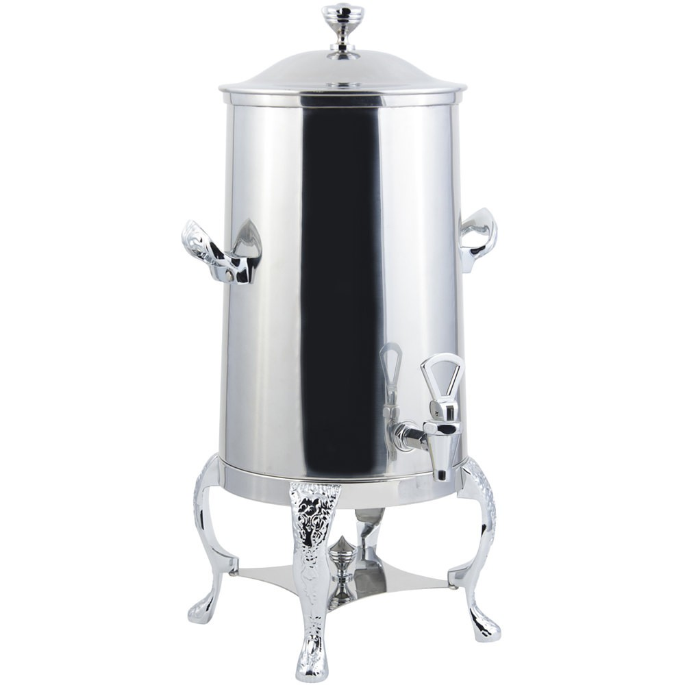 Bon Chef 47003-1C-E Renaissance Electric Coffee Urn with Chrome Trim, 3 Gallon