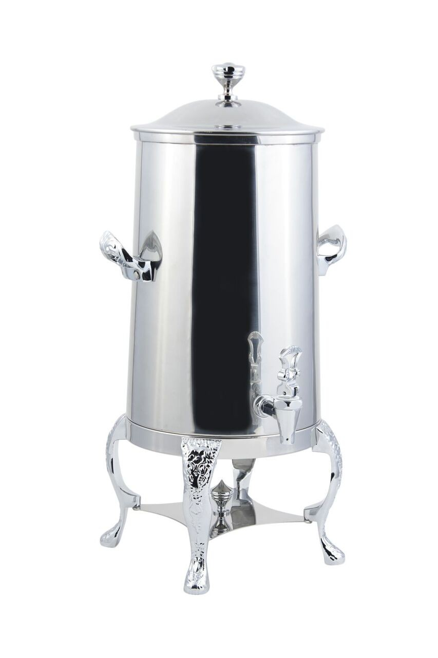 Bon Chef 47003-1CH Renaissance Insulated Coffee Urn with Chrome Trim, 3 Gallon