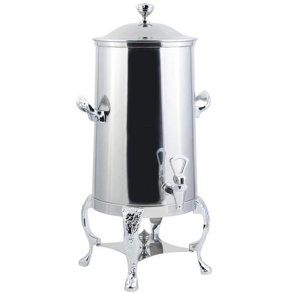 Bon Chef 47005-1C-E Renaissance Electric Coffee Urn with Chrome Trim, 5 Gallon