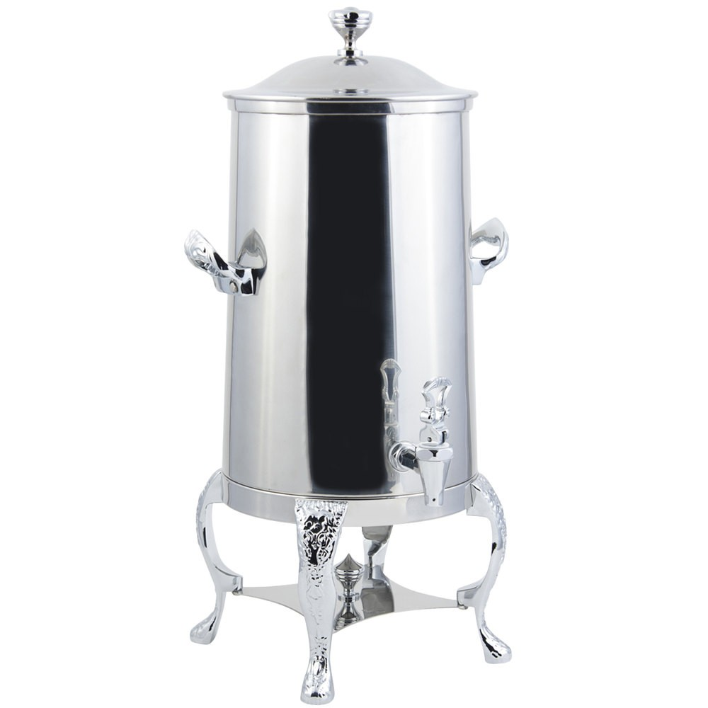 Bon Chef 47005C-E Renaissance Electric Coffee Urn with Chrome Trim, 5 Gallon