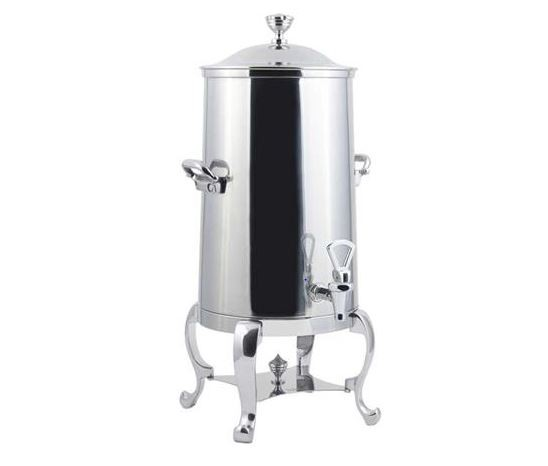 Bon Chef 48003-1C Lion Insulated Coffee Urn with Chrome Trim, 3 Gallon
