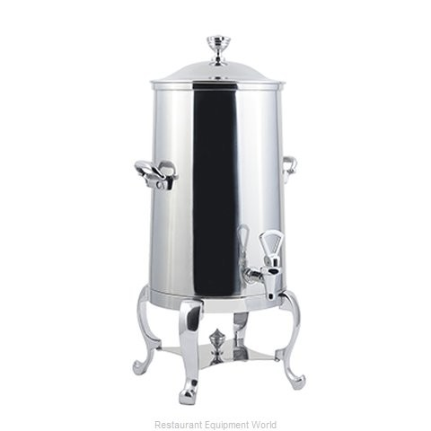 Bon Chef 49001-1C-E Roman Electric Coffee Urn with Chrome Trim, 1 1/2 Gallon