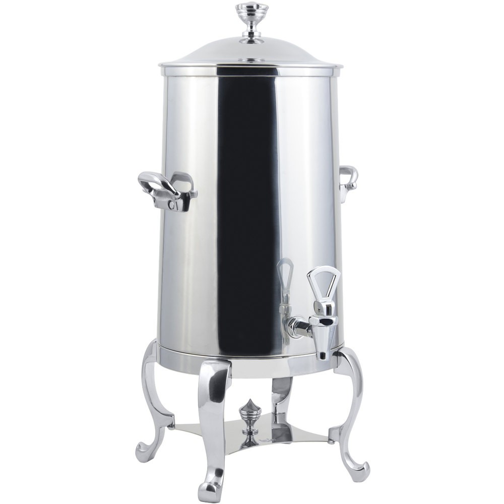 Bon Chef 49001C-E Roman Electric Coffee Urn with Chrome Trim, 1 1/2 Gallon