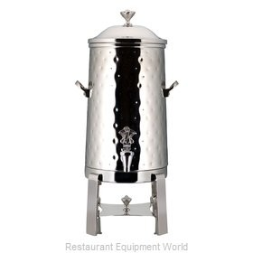 Bon Chef 49001C-H Roman Insulated Coffee Urn with Chrome Trim and Hammered Finish, 1 1/2 Gallon