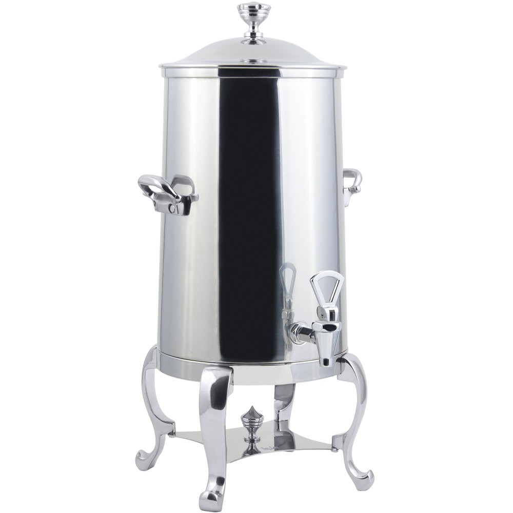 Bon Chef 49003-1C-E Roman Electric Coffee Urn with Chrome Trim, 3 Gallon