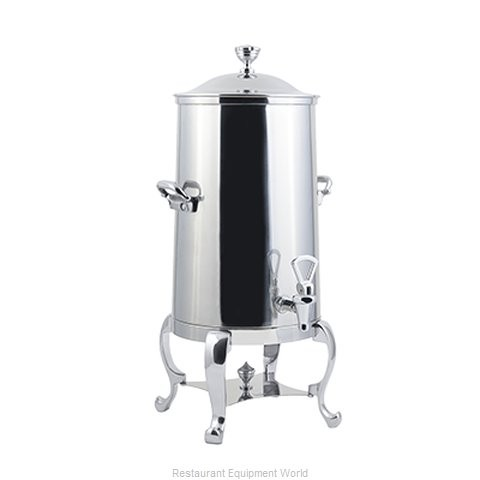 Bon Chef 49005-1-E Roman Electric Coffee Urn with Brass Trim, 5 Gallon